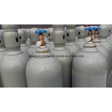 O gás de 99,9% Co encheu o cilindro Vol 20 do gás 40L / cilindro, válvula Qf-2