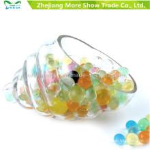 Balles de balle d'eau multicolore pistolet pistolet jouets perles de sol en cristal