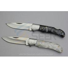 Resin Handle Pocket Knife (SE-121)
