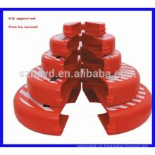 Bloqueo de la válvula de compuerta de seguridad con marcado CE
