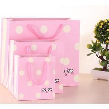 Fashion Cute 4C Printed Carton Gift Paper Bags