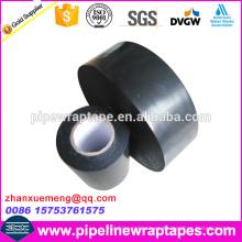 Cinta de goma de butilo PE para tuberías metálicas enterradas contra la corrosión