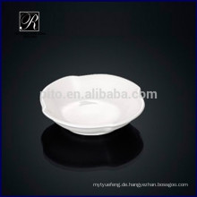 Hersteller Porzellan Quadrat Soja Untertasse Gericht romanische Butter Untertasse