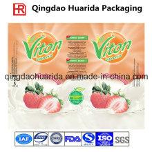 Qualitäts-PVC-Schrumpf-Aufkleber für Getränke- und Wasser-Flasche