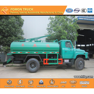Dongfeng Fecal suction tank truck 6000L cheap price