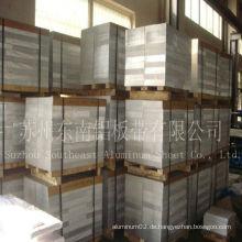 Aluminiumplatte im Kühlkörper verwendet