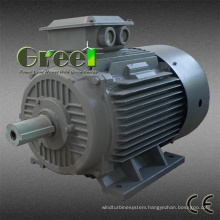 AC Brushless 3 Phase 10kw 60rpm Permanent Magnet Synchronous Generator