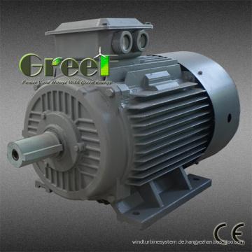 Wechselstrom schwanzloser Dauermagnet-Synchrongenerator 3 Phase 10kw 60rpm