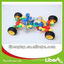 Kinder Spielzeug Auto aus Kunststoff Block Spielzeug Serie LE.PD.008