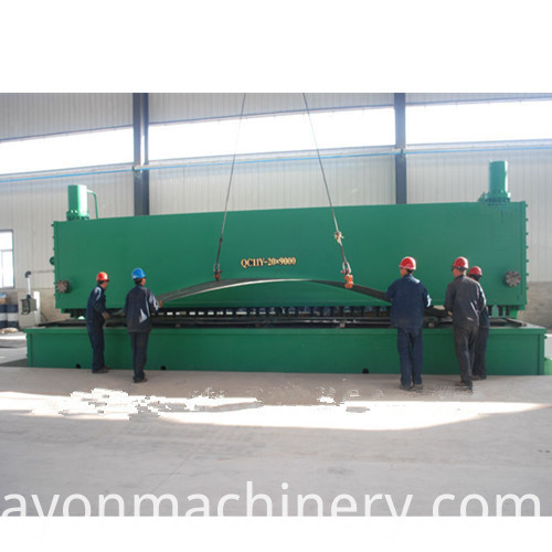 New Hydraulic Guillotine Shearing Machine