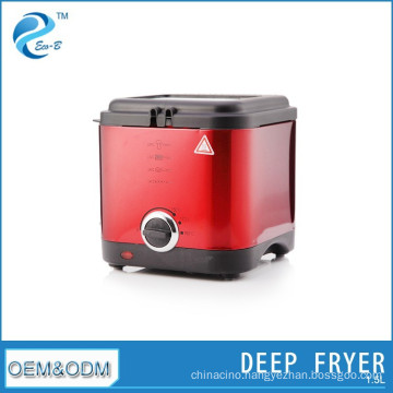 2015 Stainless Steel Square Fryer Electric Deep Fryers