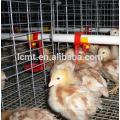 jaulas de pollo de aves de corral galvanizadas por inmersión en caliente de buena calidad