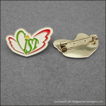 Personalisieren Sie Metal Dinosaur Form Hartemail Revers Pin Abzeichen Emblem