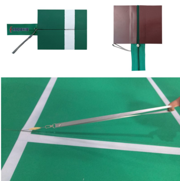 zipper badminton flooring