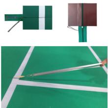 Portable Badminton Zipper Mats For Events