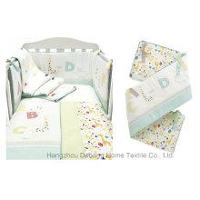 2014 Новый дизайн Домашний текстиль Красочный мягкий комплект постельных принадлежностей для новорожденных