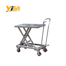 China stainless steel 304 and 316 type scissor Lift Table platform 300kg