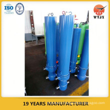 hydraulic telescopic cylinder jacks capacity 40T for tipper truck