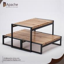 High Quality for Multi-Material Display Rack Bakery Store Furniture Counter Display Stand supply to Guatemala Exporter