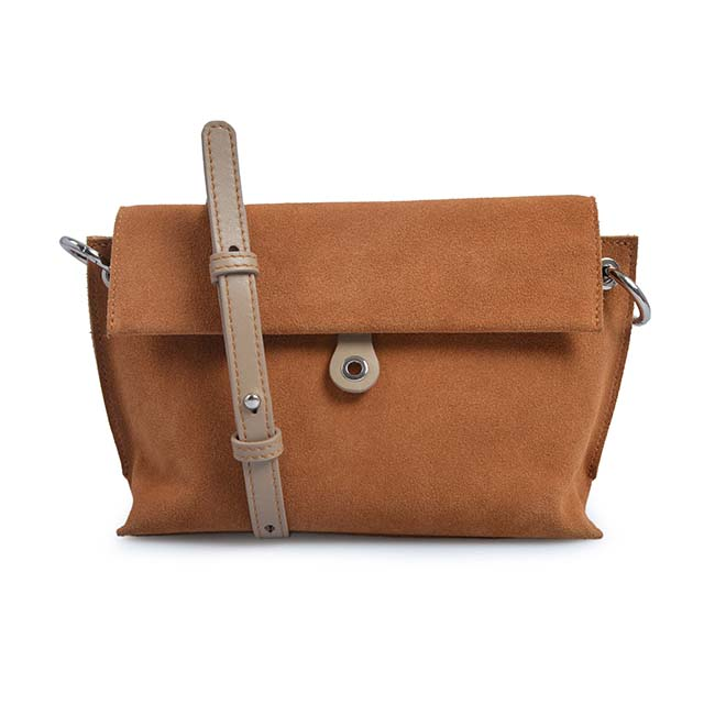 Ultra soft Suede Defines Cross-Body Slim Female Bags