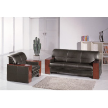 ISO Certificated Office Furniture Leather Sofa Set