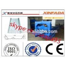 Automatische Farbe Stahl Stehende Naht Dach Panel Roll Forming Machine