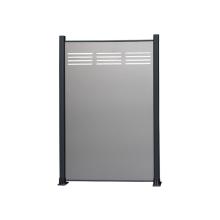 High quality aluminum ACP fence panels aluminium post home yard panels