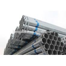 Caldeira a quente galvanizada ERW preço do tubo de aço estrutural