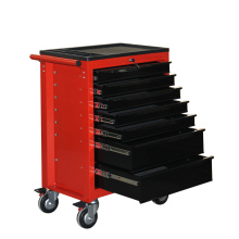 Стальной роликовый шкаф для инструментов с верхним лотком из АБС-пластика