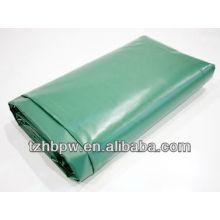 Зеленый брезент из ПВХ 0,55 мм