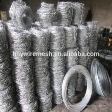 exportação Corea galvanizado arame farpado galvanizado arame farpado