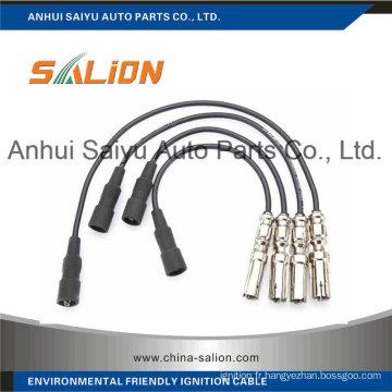 Câble d'allumage / fil d'allumage pour Volkswagen (SL-0810)