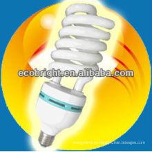 energía ahorro lámpara espiral medio energía grande 17mm 8000H CE calidad