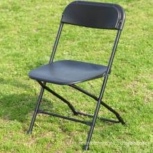 Steel plastic folding chair