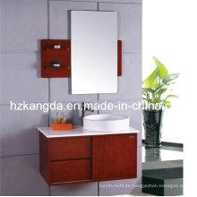 Gabinete de baño de madera sólida / vanidad de baño de madera maciza (KD-430)