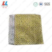 Golden silver washing dished sponge pad