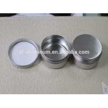 Preço de fábrica Cosméticos de cuidados pessoais Lata de alumínio