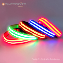 Usb LED Illuminated Flashlight Dog Collar