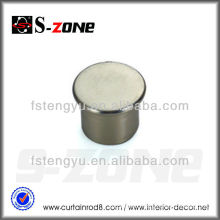 Foshan Hardware Rod Pole Pipe End Cap Cover 19/22/25/28/30/32/MM