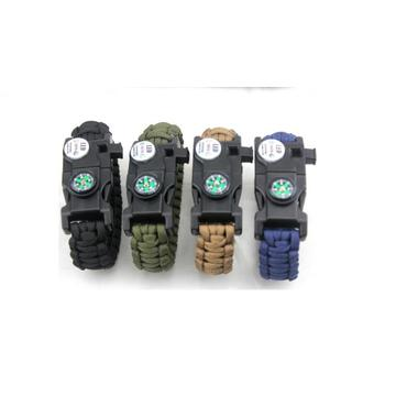 Paracord Survival Armband Getriebe
