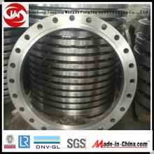 Flange de forjamento de diâmetro grande (300-6500mm) Flange de aço de caixa