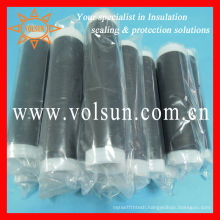 Cold shrink insulation of copper conductors