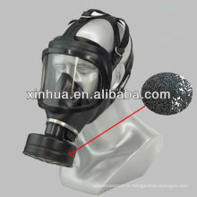 masque à gaz charbon actif à base de charbon