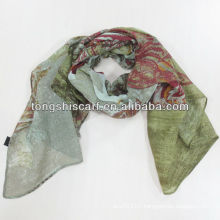 2013 New fashion flora print scarf