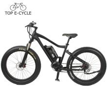 Bicicleta de caça de neve de 2017 Bicicleta de montanha elétrica de pneu de gordura
