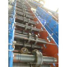 Máquina formadora de rolos de metal tipo C