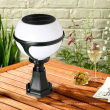 Alto Pilar solar de Lumen CE luz con 36pcs LED para al aire libre jardín bola de iluminación (JR-2012)