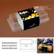 plastic PVC sushi snack food tray box