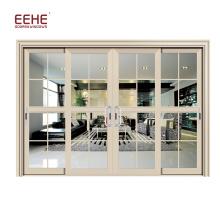 Stackable Aluminium Balcony Glass Doors Design