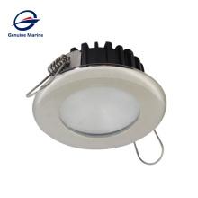 12V 24V IP65 65mm LED Recessed Round Stainless Steel Ceiling Light For Boat Marine